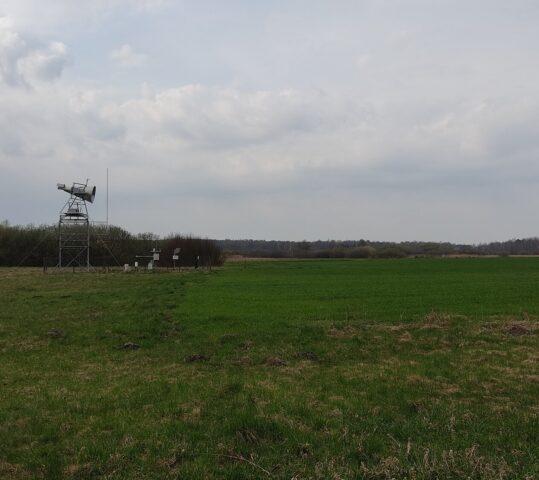 Measurements on Bubnow test-site